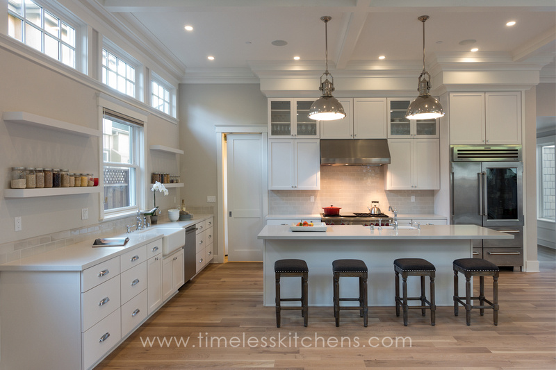 TRANSITIONAL & Timeless Kitchens | Custom Kitchen Cabinetry | San Francisco ...